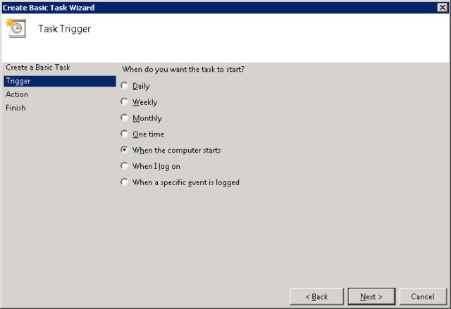 Task Trigger